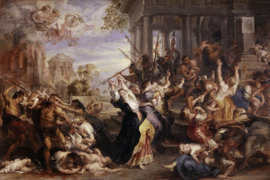 Peter Paul Rubens- Massacre of the Innocents