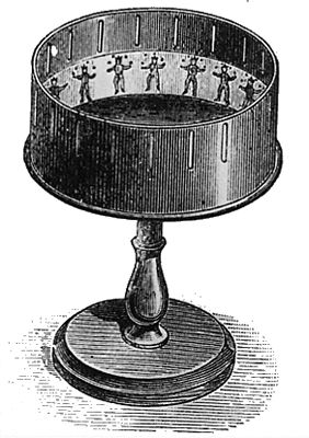 A traditional Zoetrope