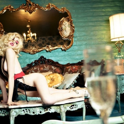 Do Not Disturb, 2012 Photography Ellen Von Unwerth