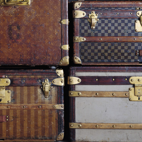 Louis Vuitton series 3 trunks