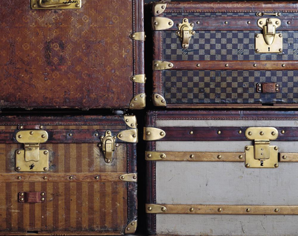 Louis Vuitton series 3 trunks